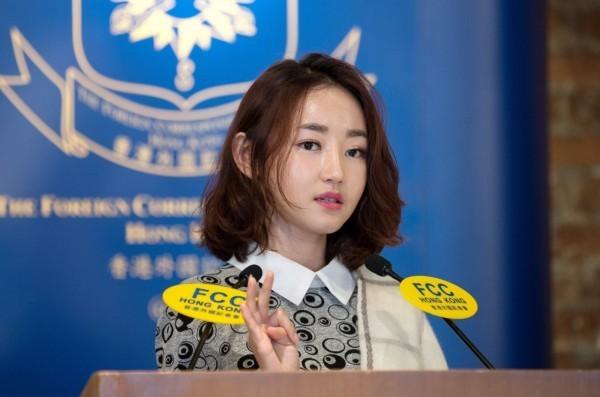 朴妍美(見圖)曾在2014年愛爾蘭都柏林舉辦的第五屆世界青年領袖峰會上發表演講,講述北韓遭遇和脫北經歷而引發了媒體和大眾的高度關注。(歐新社資料照)