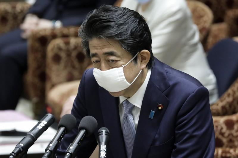 日本首相安倍晉三。(彭博)