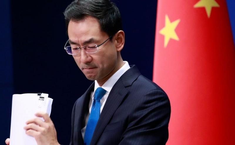 中國外交部發言人耿爽不滿反駁,認為納瓦羅「現在的這些謊話、這些謬論,完全都是虛構的。」(歐新社)