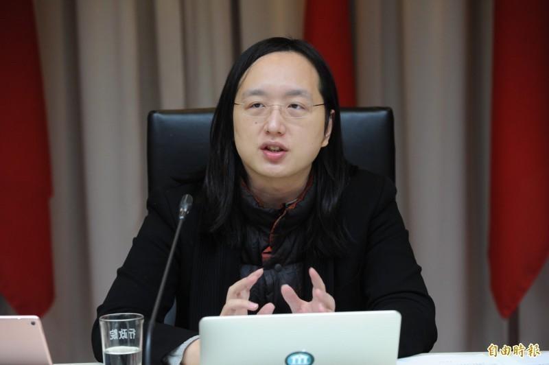 行政院數位政委唐鳳(見圖)。(資料照)