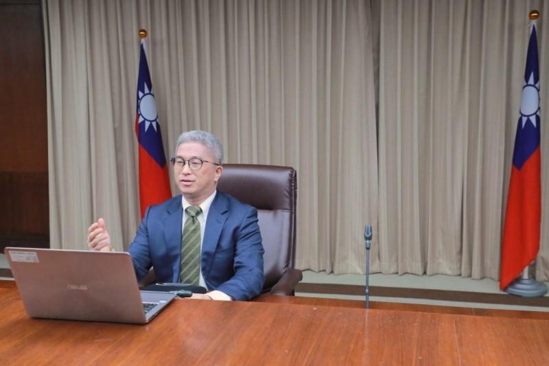外交部政次徐斯儉出席台美日GCTF會議。(外交部提供)