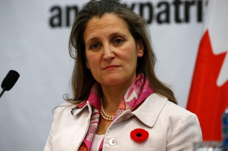 加拿大副總理方慧蘭(Chrystia Freeland)。(法新社)