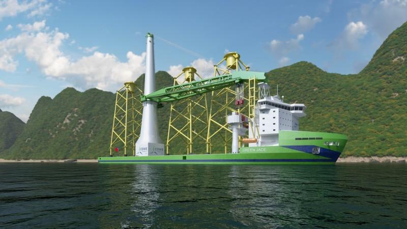 「Green Jade」示意圖。(圖:台船提供)