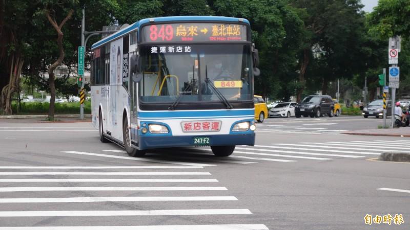 地方爭取市區公車補助中央埋單未果,交通部昨核定仍採預支。(資料照,記者鄭瑋奇攝)