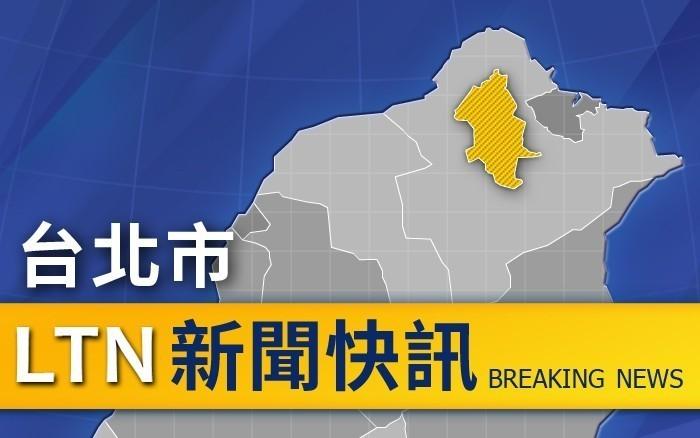 台北市中山區今晚發生女子墜樓案件,警方正在調查。(本報照)