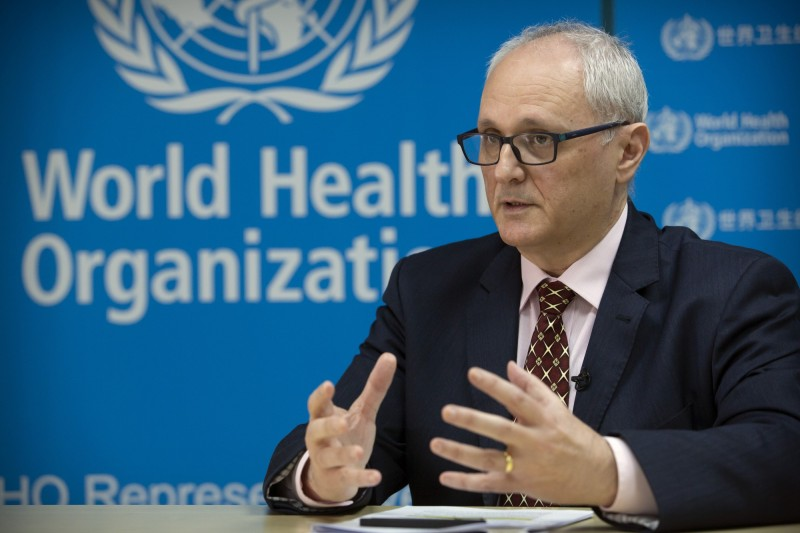 世界衛生組織(WHO)駐中國代表蓋立(Gauden Galea)最近說,中國多次拒絕世衛參與調查病毒源頭的要求,並質疑武漢初期的官方數據。(美聯社資料照)