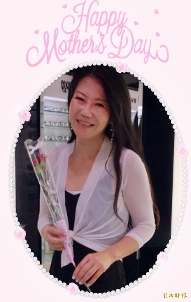 被葉元之稱「失戀的女人」,陳瓊華:女人可失戀、但不會失去自己。(記者王榮祥攝)