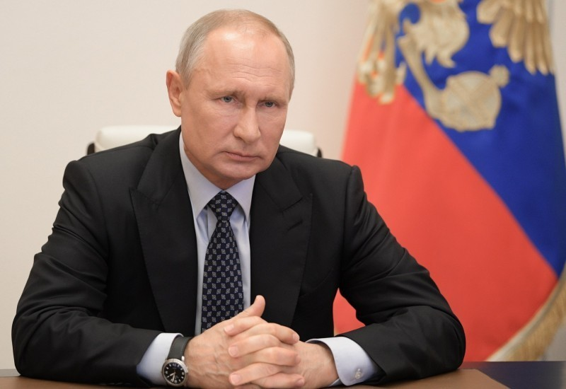 俄羅斯今(4)日新增10581確診病例,連續2天新增破萬例,累計14萬5268人染疫,死亡人數則攀升至1356人。總統普廷(見圖)日前曾警告,俄羅斯尚未達到病毒感染的巔峰。(歐新社)