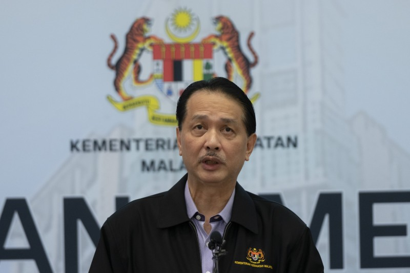 馬國衛生部總監諾希山(見圖)公開稱台灣是國家,大讚台灣防疫成效。(美聯社檔案照)