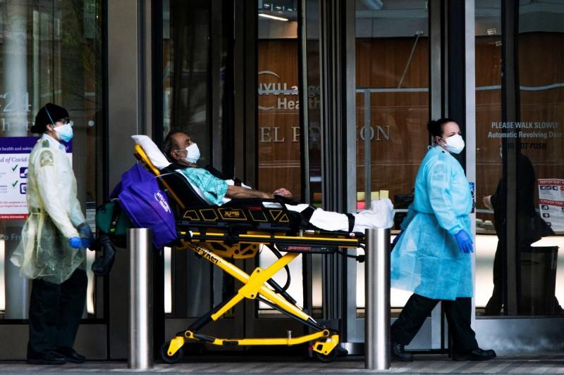 中國武漢爆發的新型冠狀病毒疾病(COVID-19,下稱武漢肺炎)疫情持續延燒。(路透)
