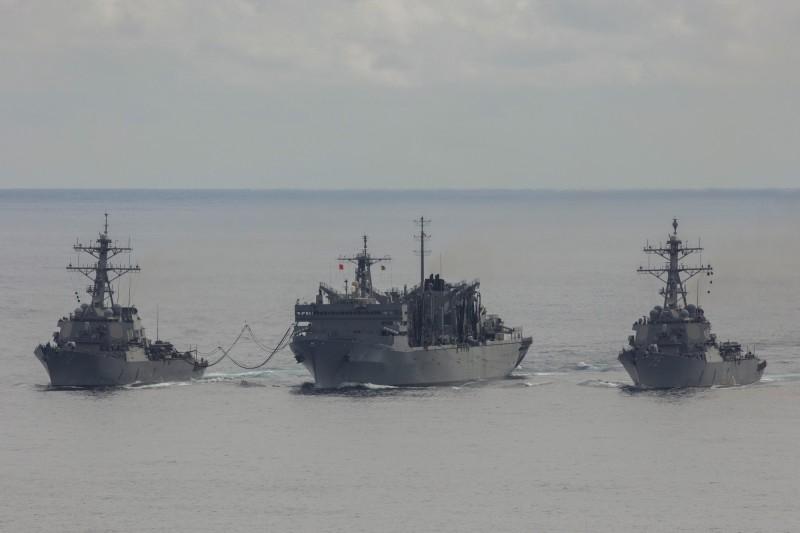 美國第6艦隊(C6F)與英國皇家海軍在北極圈進行了雙邊反潛作戰演習。(照片取自美國第6艦隊網站)