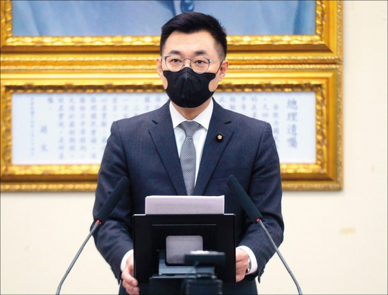 國民黨主席江啟臣昨在中常會強調,黨內都相當關心高雄,全黨會共同面對挑戰,所有中常委也會相挺。(資料照)