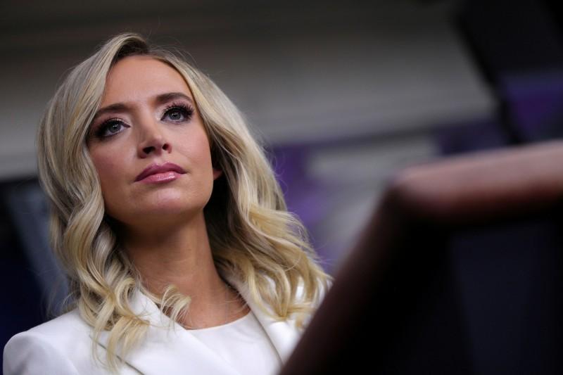 白宮發言人麥肯內妮表示,現階段的美中關係令人失望且沮喪。(路透)