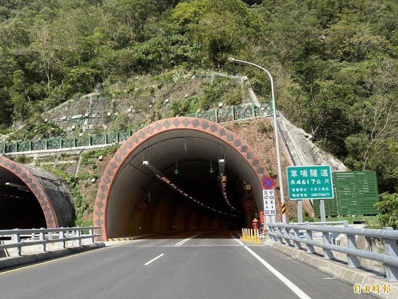 網友散布南迴公路「草埔隧道」開通即封閉的假訊息被法院裁罰。(資料照)