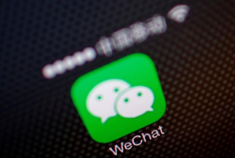 最新研究顯示,在全球擁有超過10億用戶的中國即時通訊軟體微信(WeChat),正在監控非中國地區的帳戶,透過這些數據,以強化中國境內的政治審查機制,微信可能會被調查或要求下架。(路透資料照)