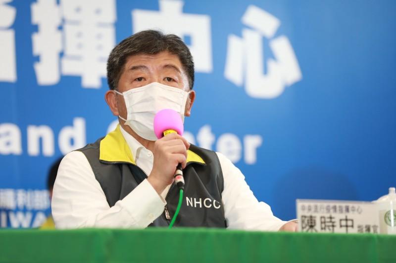 有鑒於疫情趨緩,中央流行疫情指揮中心指揮官陳時中今日表示,餐飲業研擬推出安心飲食,並且會與交通部討論防疫旅遊等。(圖由指揮中心提供)