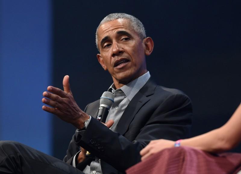 歐巴馬批評川普政府防疫。(法新社)