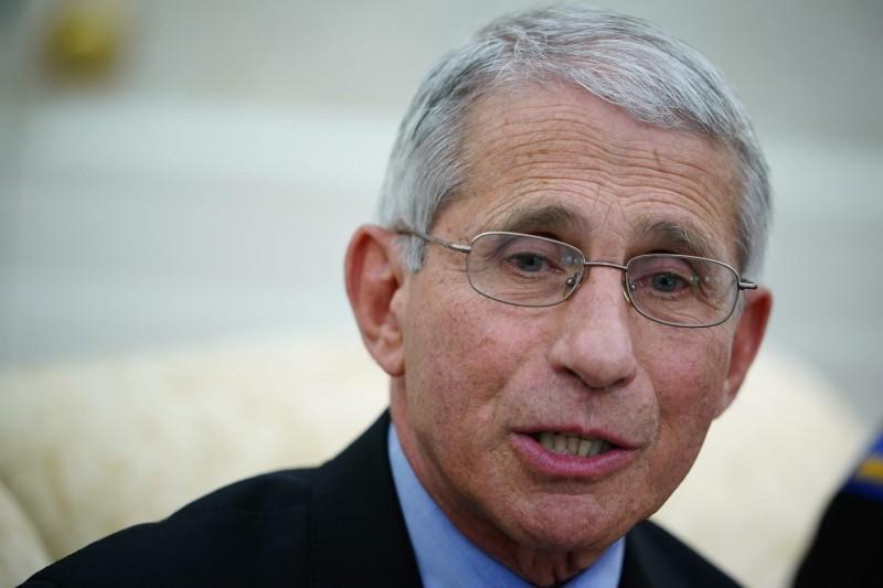 美國國家過敏與傳染病研究院(NIAID)院長佛奇(Anthony Fauci),將展開14天的自主隔離。(法新社)