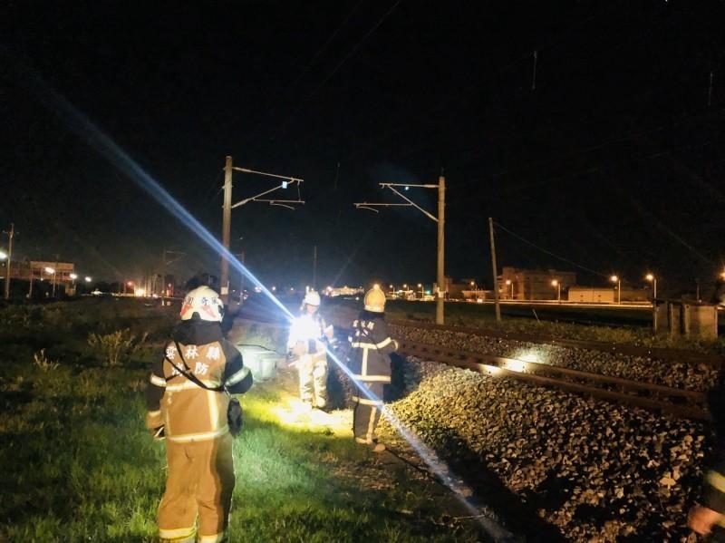 台鐵列車本月3日在石龜站附近撞死一名尋短老翁。(資料照)