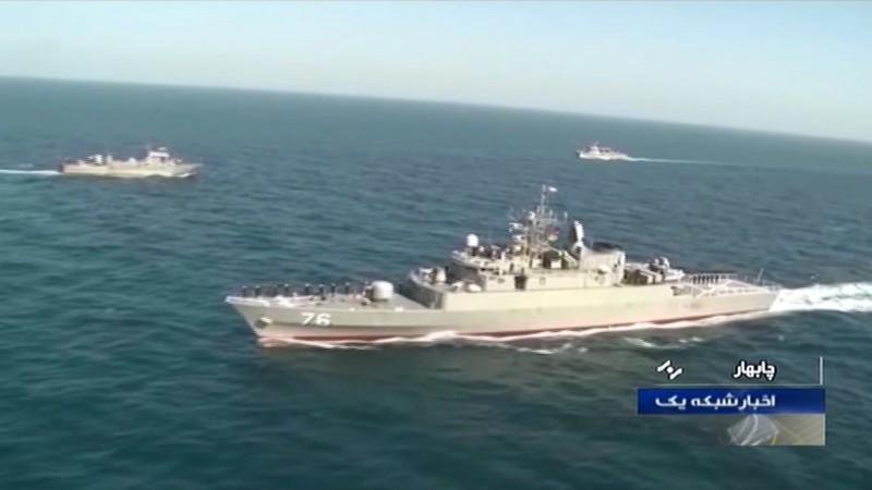 伊朗巡防艦賈馬蘭號(Jamaran,圖)誤射反艦飛彈將友艦科納拉克號(Konarak)擊沉,非官方消息透露恐怕會有數十人死亡。(法新社)