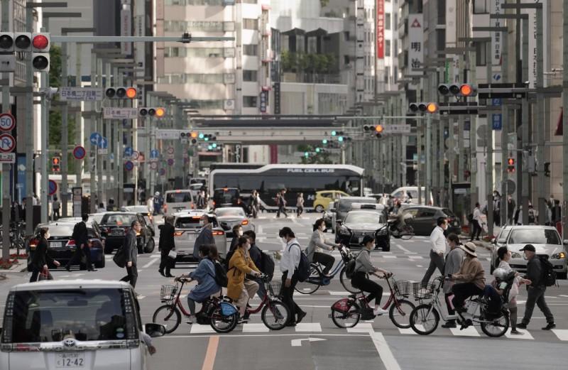厚生勞動省統計,東京都的床位使用率已經高達92%。(歐新社)