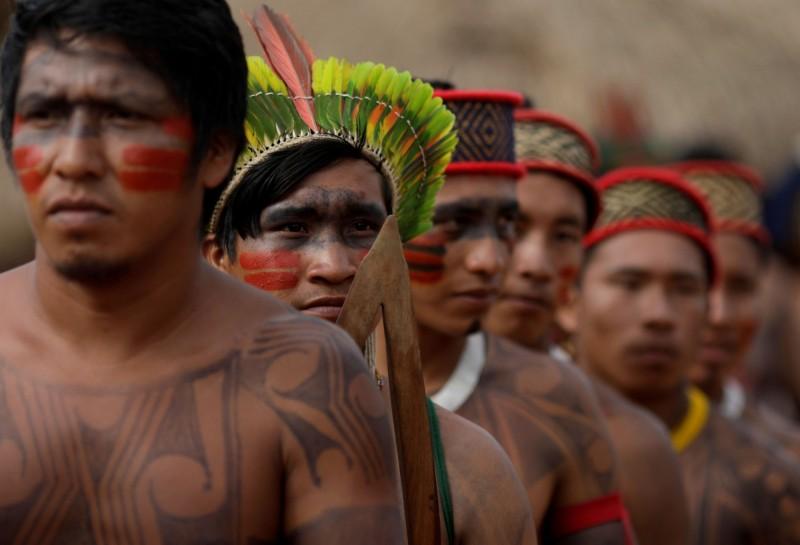 武漢肺炎肆虐全球,南美洲原住民社群正試圖切斷外界接觸,深怕疫病將感染部落耆老,重創其文化及知識遺產。(路透檔案照)