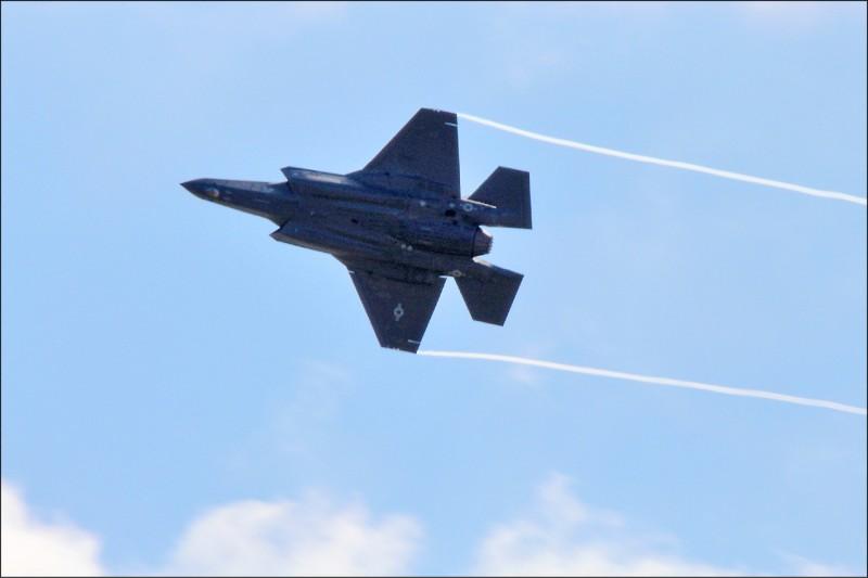 「美台商會」會長韓儒伯指出,若要維持、甚至提升和美國全面合作的標準,台灣還有許多工作要做,達到最高科技保護標準,才能購買F-35戰機或飛彈防禦系統等高科技軍備。(中央社)