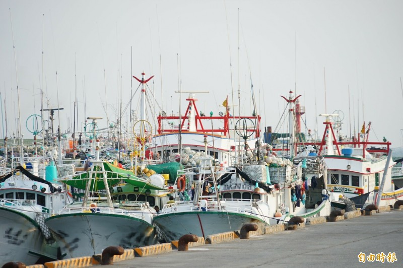 設籍東港、琉球的遠洋漁船,因為台灣相對安全,近來出現「海歸潮」。(記者陳彥廷攝)