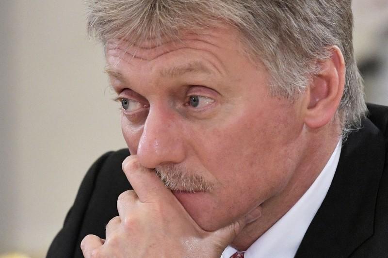 克里姆林宮發言人佩斯科夫(Dmitry Peskov)今天證實染疫,目前已住院治療。(法新社)