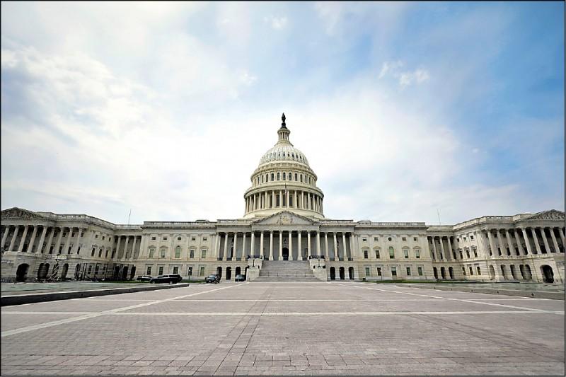 美國聯邦參議院美東時間11日通過法案,要求美國國務卿研擬策略,協助台灣重獲世衛觀察員身分。圖為美國國會大廈外觀。(中央社)