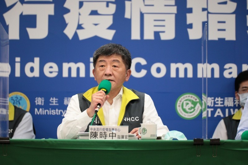 指揮官陳時中表示,境外移入、本土個案都沒有病例也已第6天。(圖︰指揮中心提供)