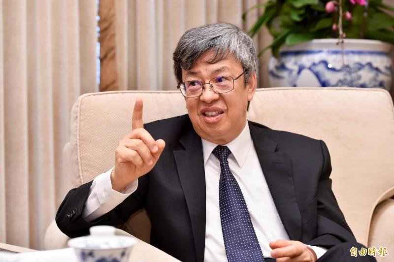 副總統陳建仁。(資料照)