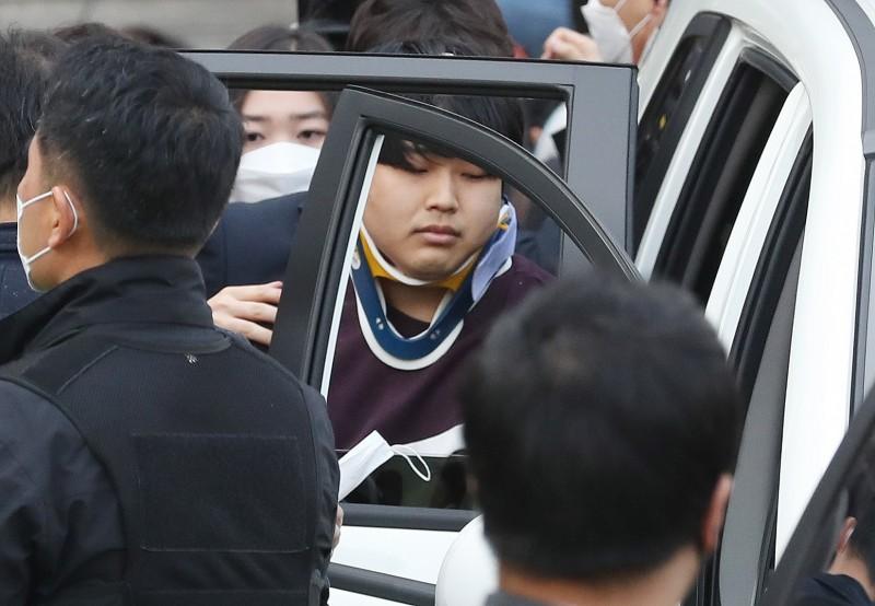 韓國《N號房防止法》將最低合法性交年齡從13歲提高為16歲,另外,持有、購買、儲存、觀看非法色情影像等行為,也將面臨3年以下徒刑或是3000萬韓元(約台幣73萬)以下的刑罰。圖為N號房主謀趙主彬。(歐新社)