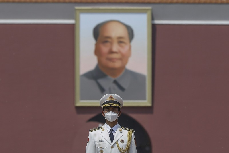 中國前領導人毛澤東曾對日本侵華表示感謝。(歐新社)