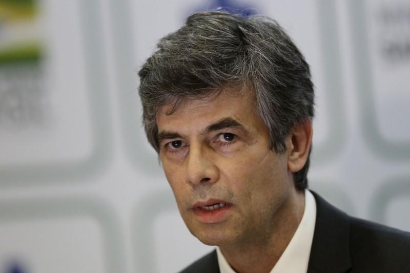 新任巴西衛生部長泰希(Nelson Teich)在當地時間週五宣布辭職。(美聯社)