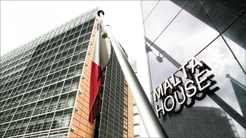 比利時情報機構懷疑,馬爾他駐比利時大使館可能是中國諜報行動的重要據點。(取自網路)