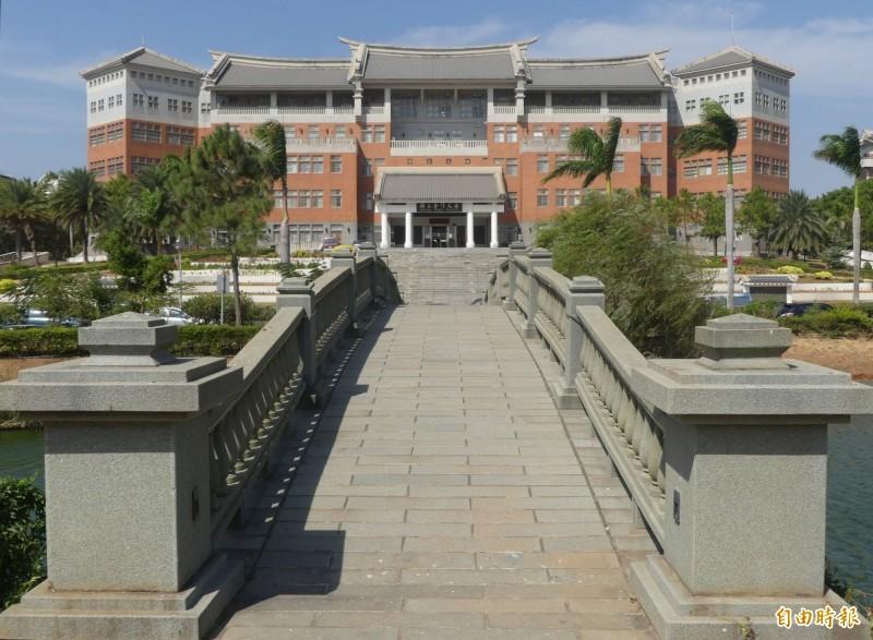 國立金門大學體育男老師遭指言語騷擾女學生。(記者吳正庭攝)