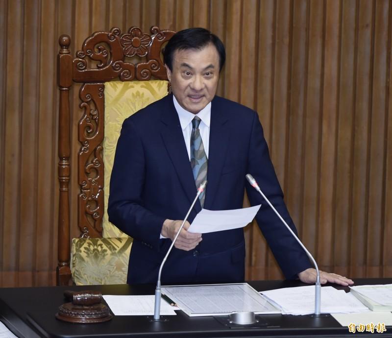 總統府秘書長將由前立法院長蘇嘉全接任。(資料照)