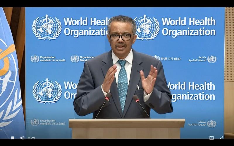 世界衛生組織(WHO)在這次對抗疫情中荒腔走板,秘書長譚德塞(見圖)仍大言不慚的自誇「WHO很早就針對武漢炎疫情對警告世界」,推稱是「疫情突然爆炸」才會在全世界大流行。(法新社)