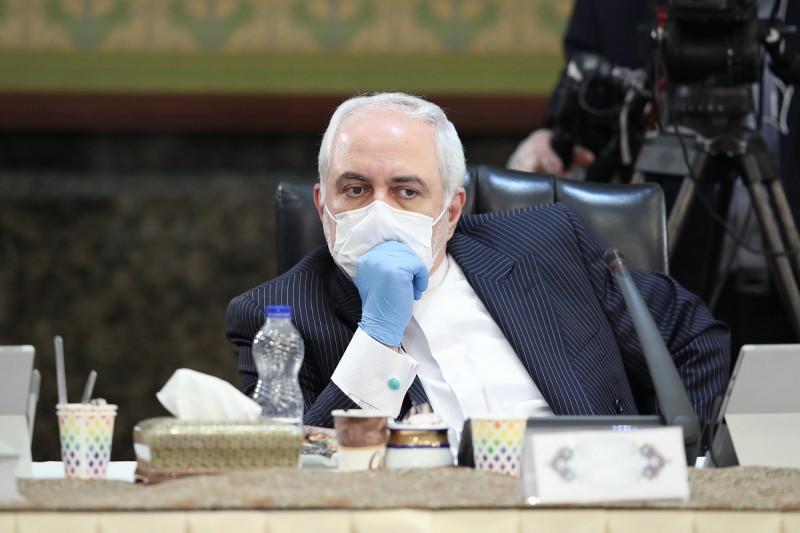 伊朗外交部長札里夫致函聯合國,要求美國停止干預行動。(歐新社)