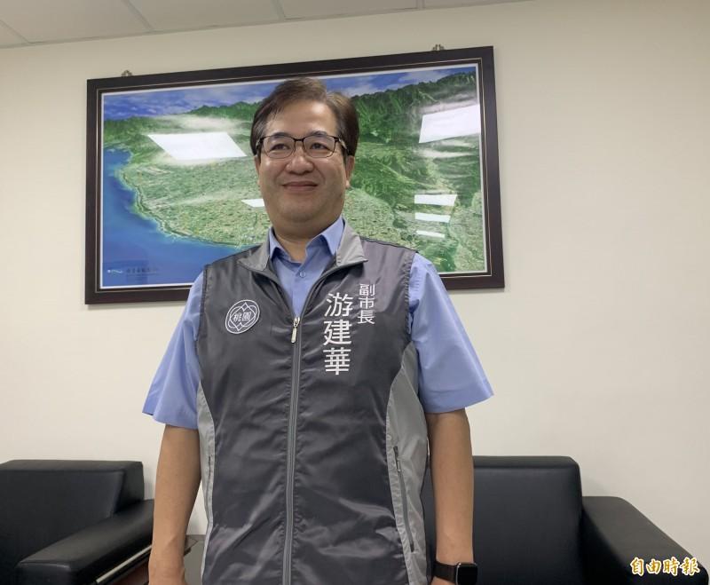 桃園市副市長游建華。(記者陳恩惠攝)