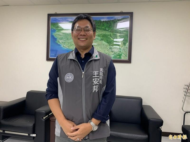 今年4月1日才回歸市府團隊、就任民政局長的王安邦。(記者陳恩惠攝)