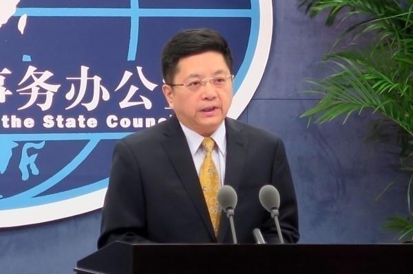 世界衛生大會本次會議未討論台灣參與案,美日等14國聲援台灣。中國國台辦發言人馬曉光(見圖)指稱,「奉勸民進黨當局不要在錯誤道路上越走越遠,任何挑戰一個中國原則的行徑必然以失敗告終。」(中央社資料照)