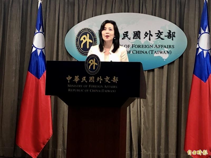 我外交部發言人歐江安表示,外交部對於日方重視與台灣的關係,表達誠摯歡迎與肯定。(資料照))