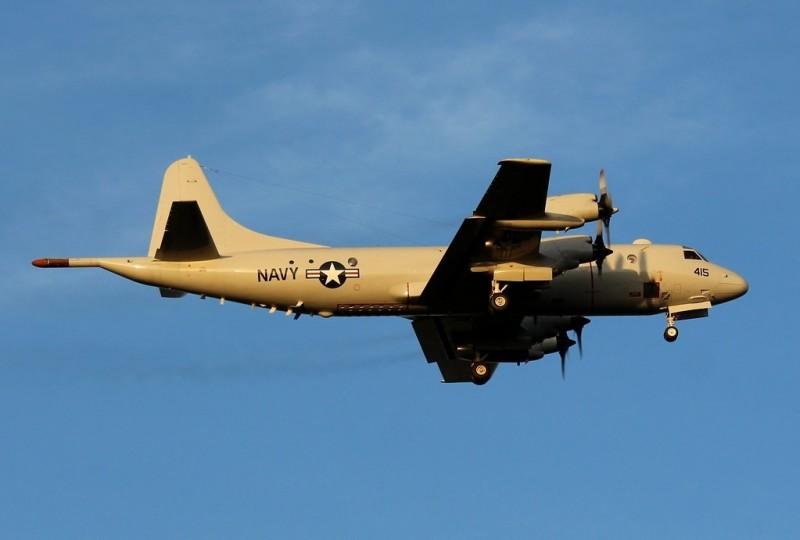 美國海軍P-3C反潛機。(FLIGHTAWARE網站)