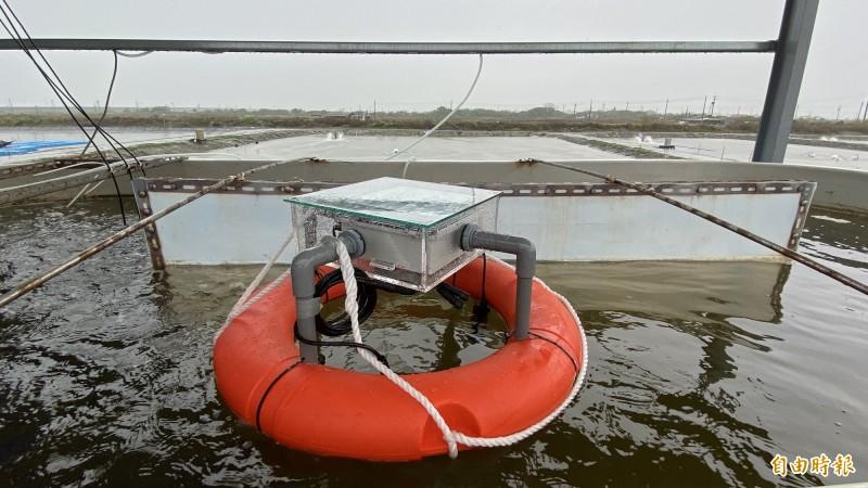 水質監控系統。(記者楊金城攝)