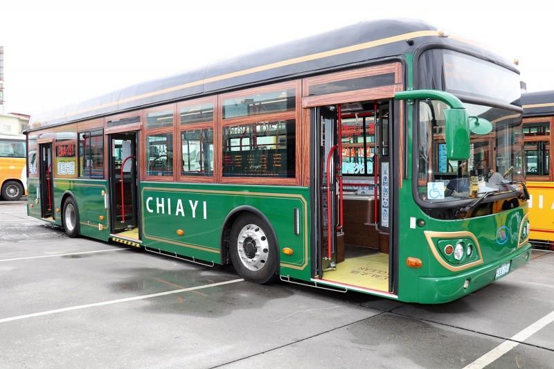 嘉義市電動公車中山幹線將於6月1日營運。(嘉義市政府提供)