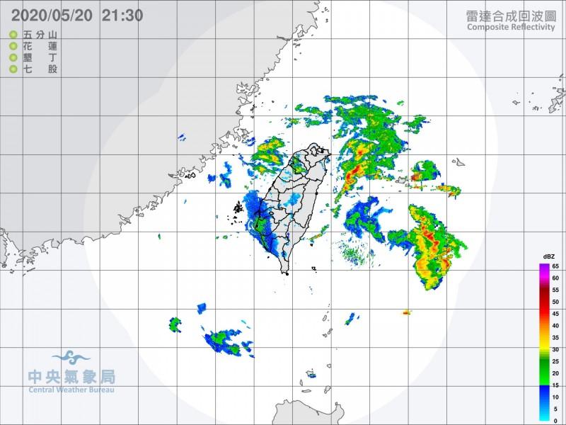 明起3天全台有強降雨,中南部更需留意大豪雨,提醒民眾注意。(取自中央氣象局)