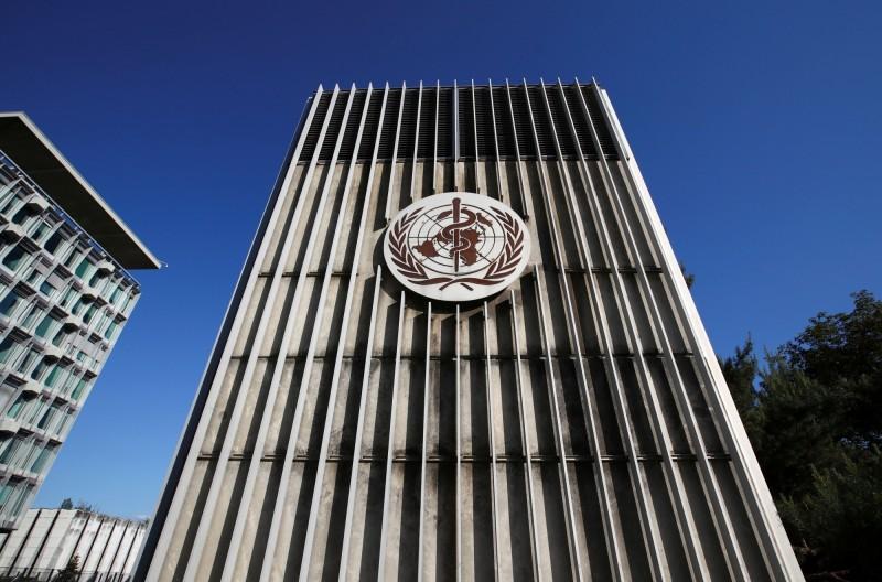 圖為WHO日內瓦總部。(路透)