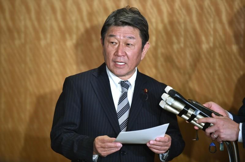 台灣再次因為中國反對未能參加今年的世界衛生大會,日本放送協會(NHK)報導,外相茂木敏充今天於國會答詢時表示「真的很遺憾」。(法新社資料照)